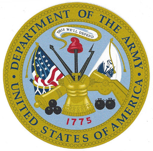 "U.S. Army 4"" Vinyl Decal"