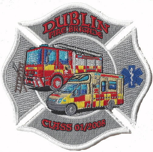 Dublin Fire Brigade Class of 2008 Patch