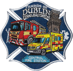 Friends Of Dublin Fire Brigade Patch