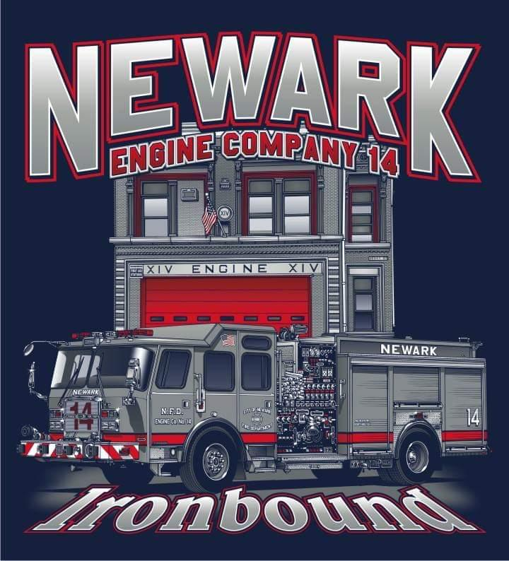 Newark Engine 14 Ironbound Tee