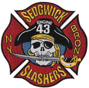 New York City Engine 43 Sedgwick Slashers Bronx Fire Patch