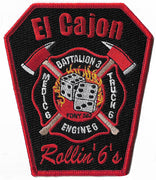El Cajon, CA Station 6 Patch