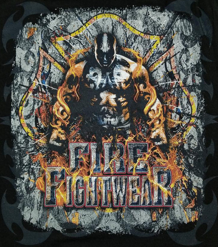 Fire Fightwear Black Tee