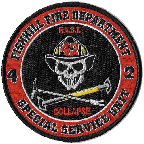 Fishkill, NY Station 42 Collapse Rescue Patch