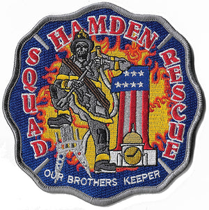 Hamden, CT Rescue 1 Squad 1 Our Brothers Keeper Fire Patch