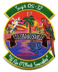 Columbusville Hawaii Air Force Patch