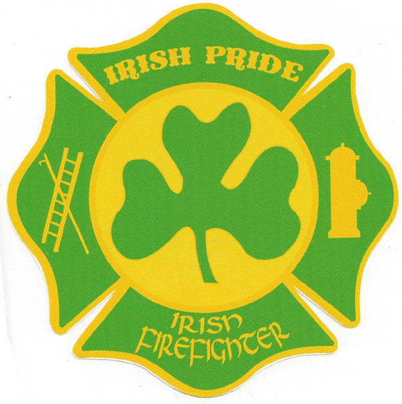 "Irish Pride 4"" Decal Maltese Shape"