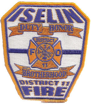 Iselin, NJ Fire Department Patch