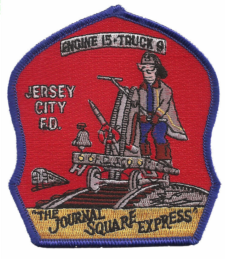 Jersey City Engine 15 Truck 9 Patch