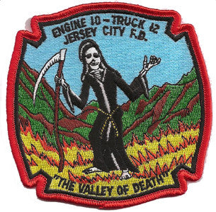 Jersey City E-10 T-12 Blue-Valley of Death Patch