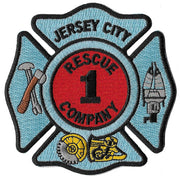 Jersey City, NJ Rescue 1 Patch