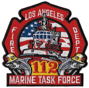 LAFD Marine Task Force 112 Patch