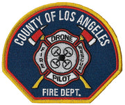 LA County Drone Pilot Fire Rescue Patch