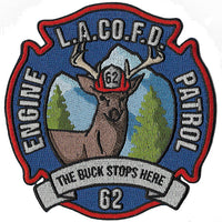 LA County Station 62 The Buck Stops Here NEW Fire Patch