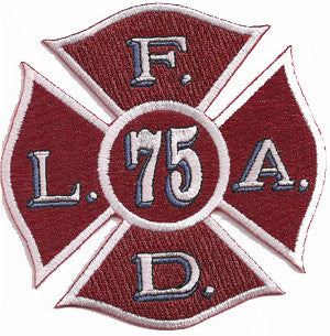 LAFD Station 75 Patch