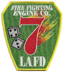 LAFD Station 7 Patch