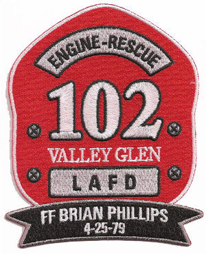 LAFD Station 102 Patch