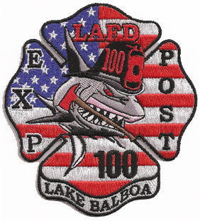 LAFD Explorer Post 100 Patch