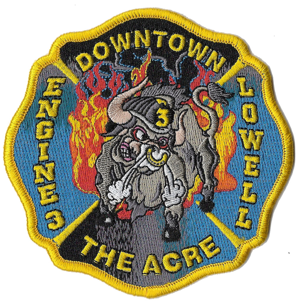 Lowell, MA Engine 3 Patch