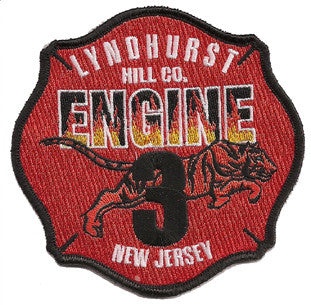 Lyndhurst, NJ Engine 3 Patch