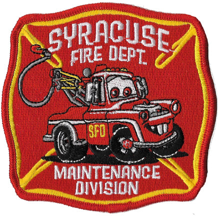 Syracuse Fire Maintenance Division Patch