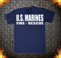 US Marine Crash Rescue Tee USMC