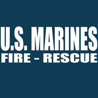 US Marine Crash Rescue Tee USMC- 3XL Only