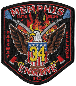 Memphis Station 34 Parkway Village Fire Patch