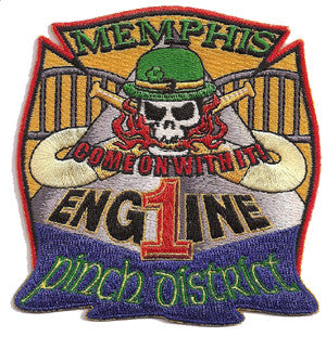 Memphis Engine 1 Pinch District Patch