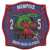 Memphis Engine 2 Truck 5 Patch