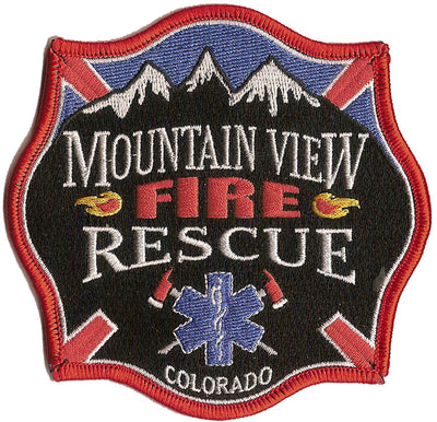 Mountainview, CO Fire Rescue Patch