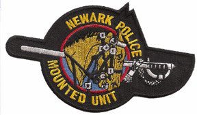 Newark, NJ Mounted Police Patch