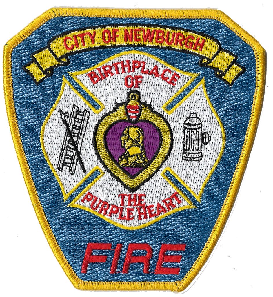 Newburgh, NY Fire Dept Patch