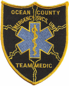 Ocean County, NY ESU Medic Patch