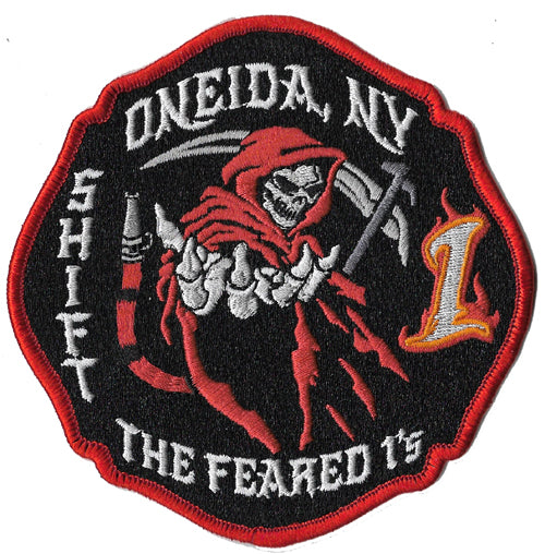 Oneida, NY The Feared Ones Reaper Fire Patch