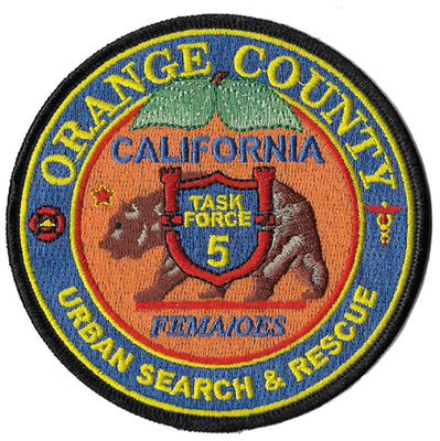 Orange County, CA USAR Task Force 5 Fire Patch