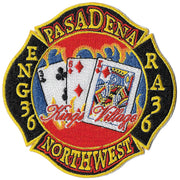 Pasadena, CA Station 36 Patch