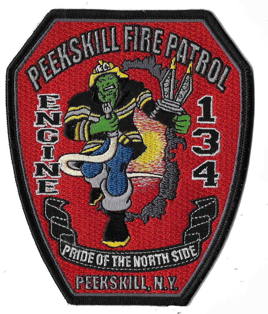 Peekskill, NY Engine 134 Patch