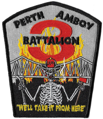 Perth Amboy, NJ Battalion 3 Patch