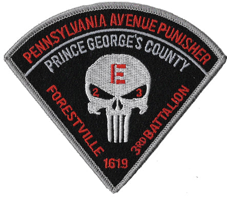 Prince George's County, MD 3rd Battalion Patch