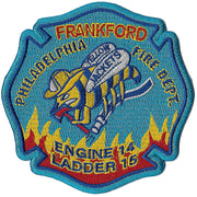 Philadelphia E-14 L-15 Frankford Yellow Jackets Patch
