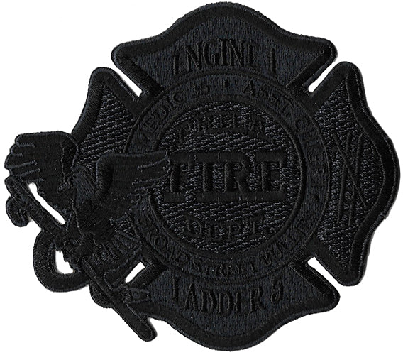 Philadelphia Engine 1 Ladder 5 Blackout Fire Patch