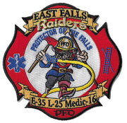 Philadelphia Engine 35 Ladder 25 New Design Fire Patch