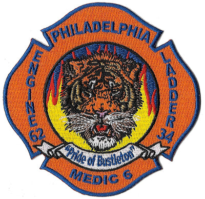 Philadelphia Engine 62 Ladder 34 Medic 6 Patch