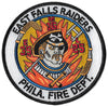 Philadelphia Engine 35 Ladder 25 Medic 16  East Fall Raiders Fire Patch