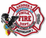 Philadelphia Ladder 5 Medic 35 Battalion 1 Patch