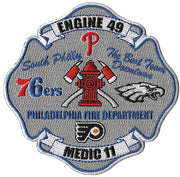 "Philadelphia Engine 49 ""South Philly"" Patch"