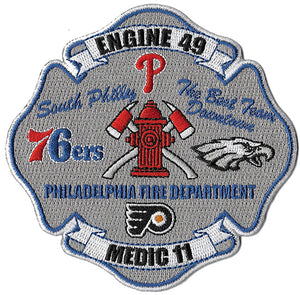 Philadelphia Engine 49 South Philly Fire Patch