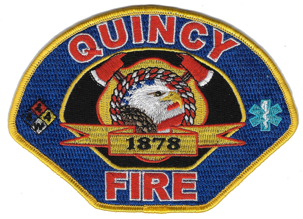 Quincy, CA Fire Patch