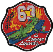 Richmond, CA Station 63 Patch